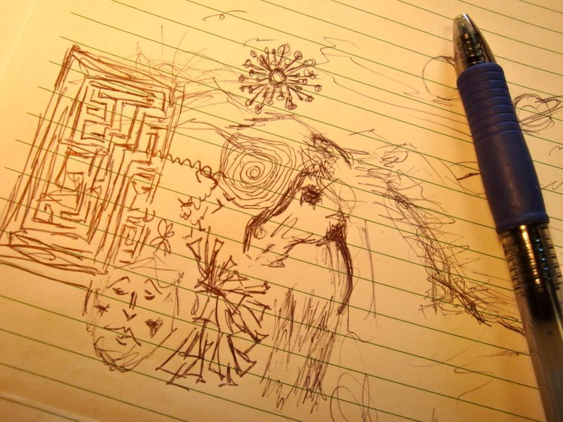 And You Thought Doodling Meant Not Paying Attention!